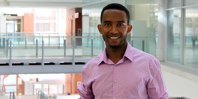 Dareskedar Amsalu, Masters student in Resource Economics and Environmental Sociology, University of Alberta.