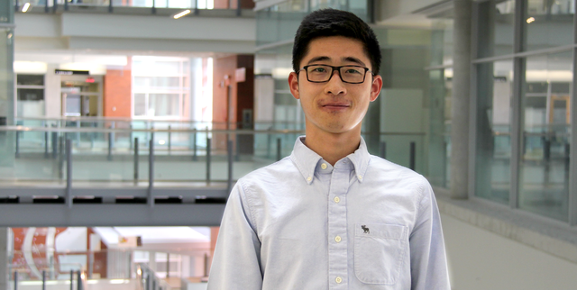 Haoluan Wang, Masters student in Resource Economics and Environmental Sociology, University of Alberta.